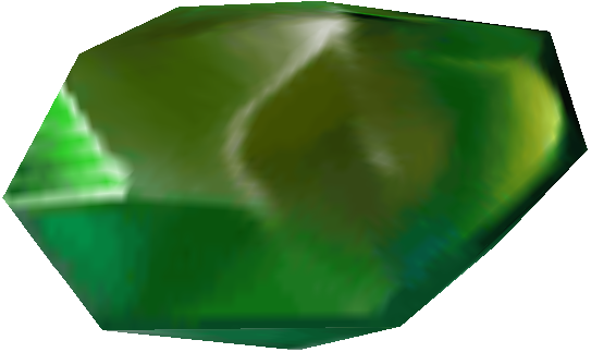 Green crystal png
