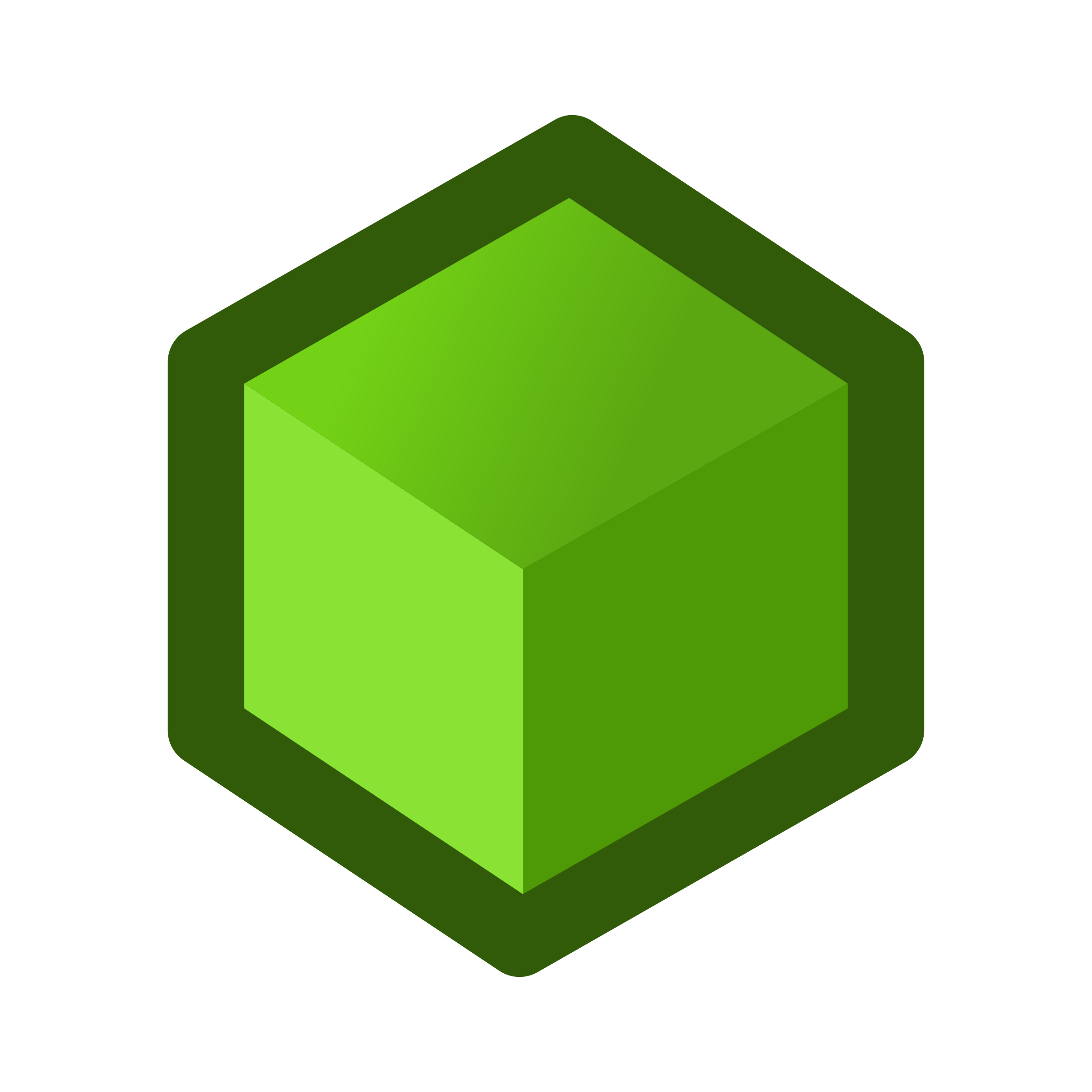 Green cube png. Icon icons free and
