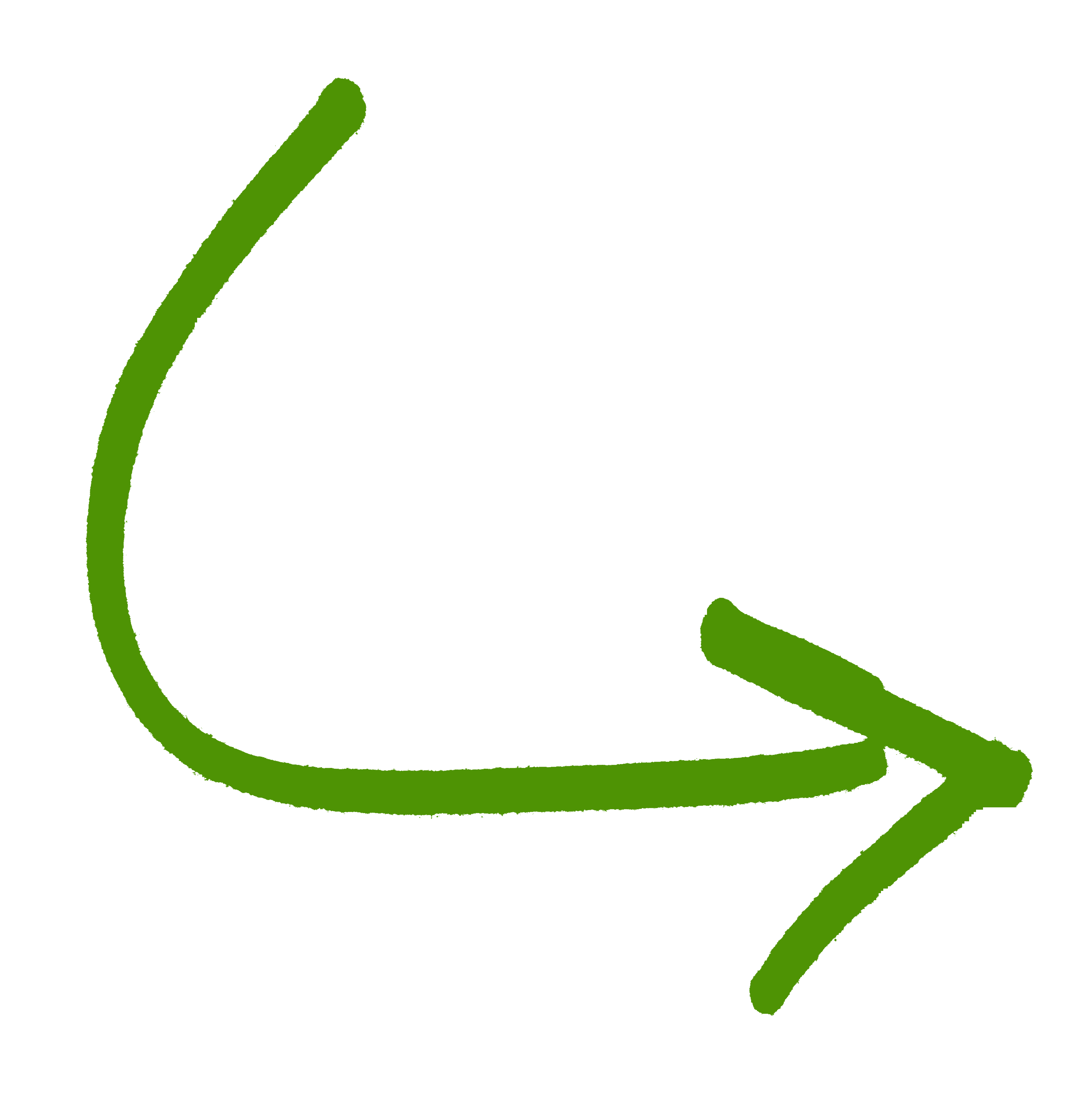 Green curved arrow png. Down free icons and