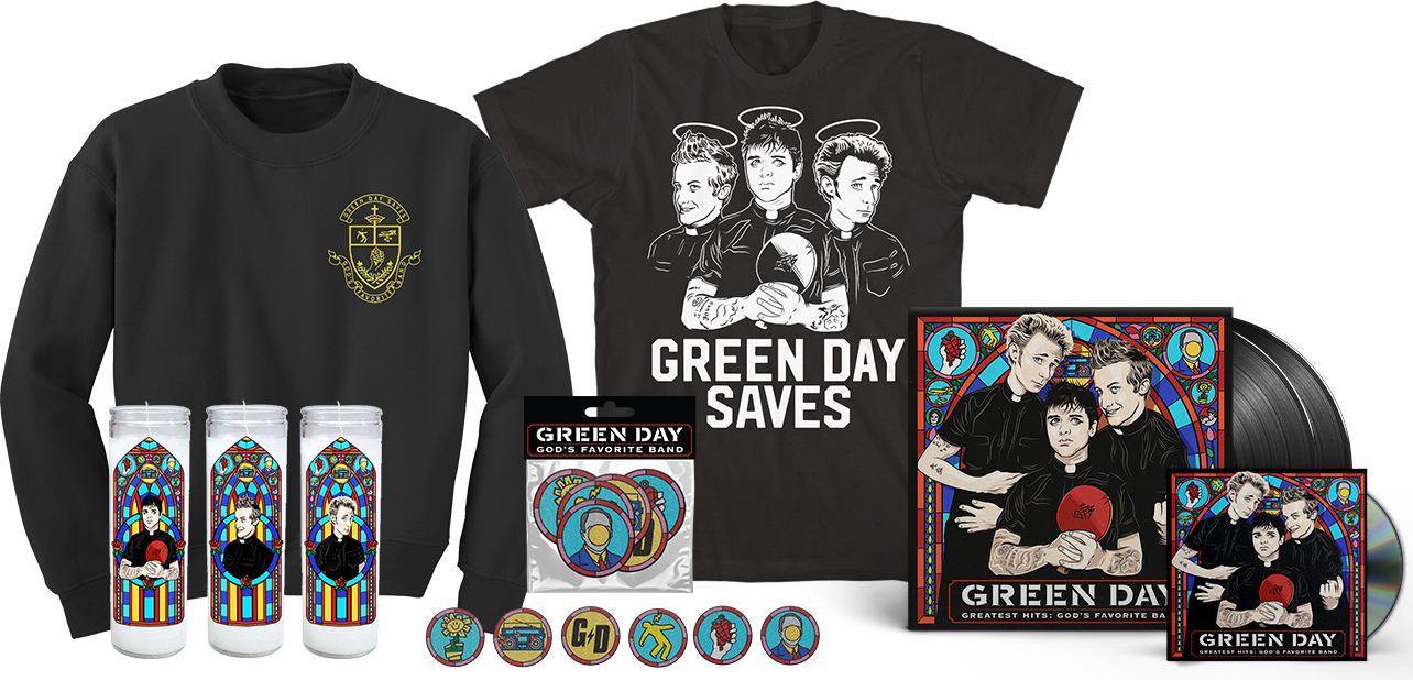 Green day band logo png. Official website bundlecover