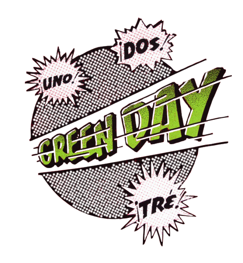 Green day band logo png. I made the transparent