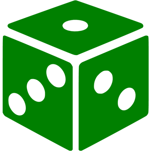 Green dice png. Icon free gamble icons