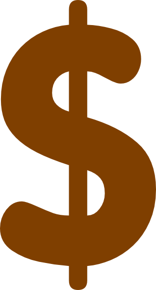 Green dollar signs png. Baby sign clip art