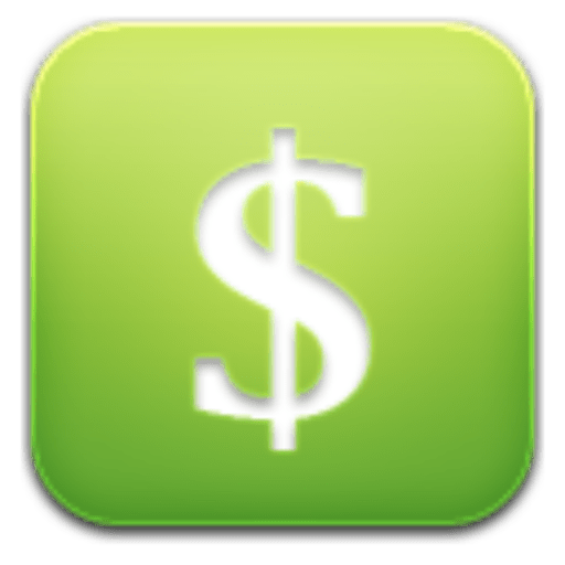 Green dollar signs png. Cropped sign icon rich