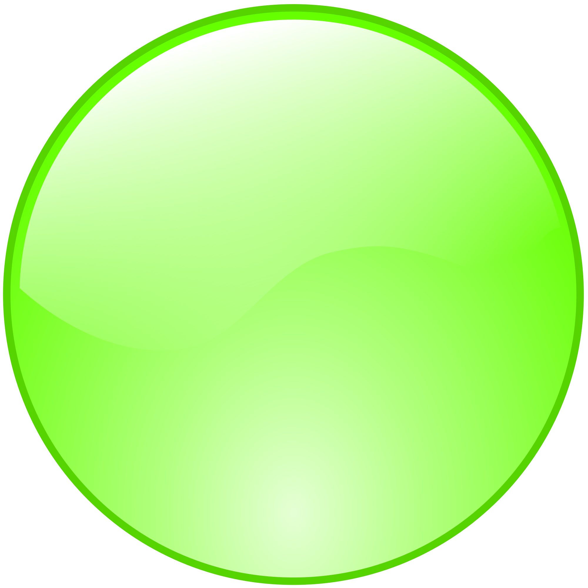 Green Dot Icon Transparent & PNG Clipart Free Download - YWD