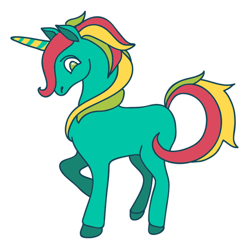 Svg unicorn vector. Drawing doodle vexel unicornio