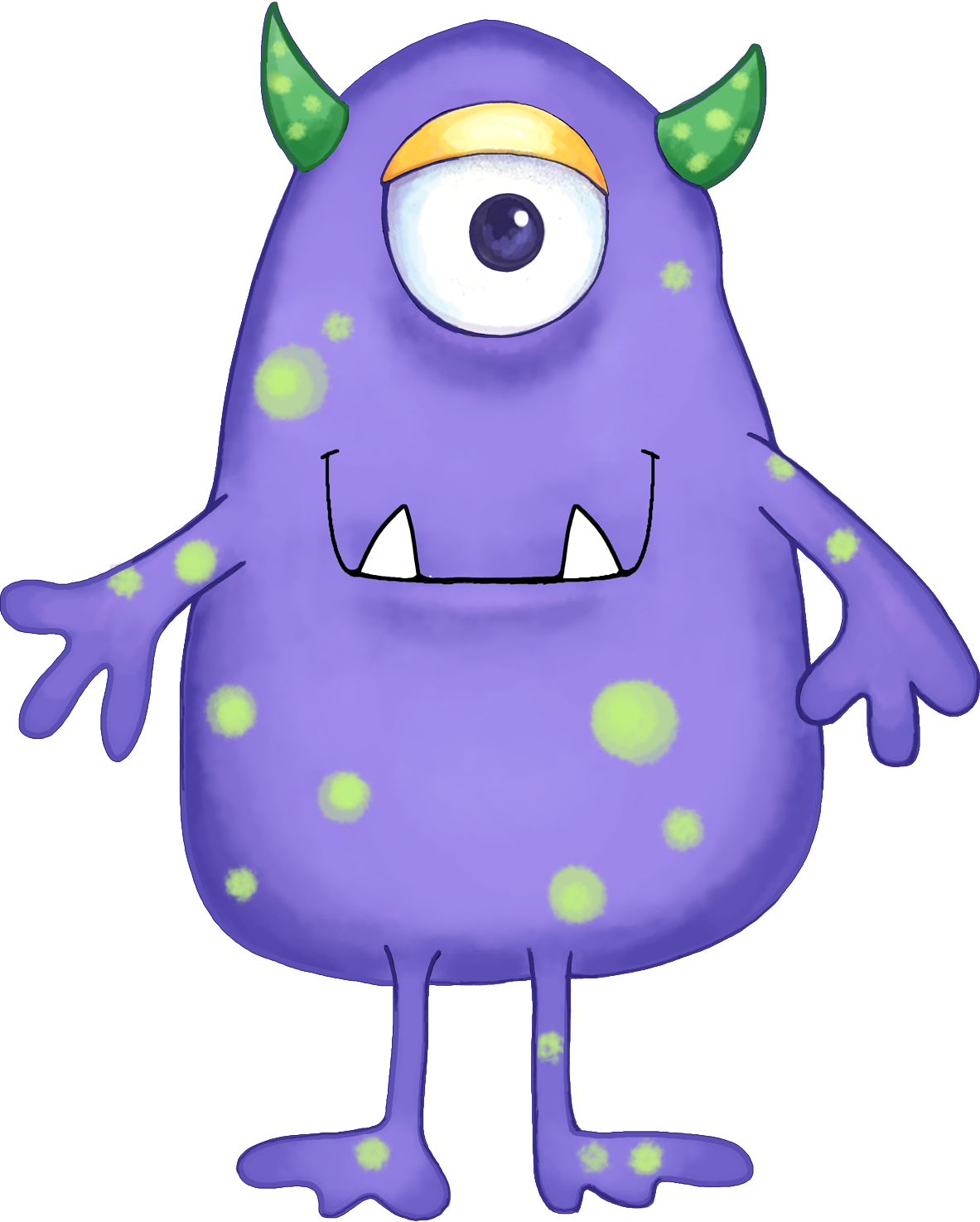 Green drawing monsters inc. Clipart at getdrawings com