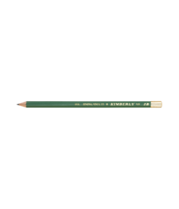 Green drawing pencil. Graphite appointed