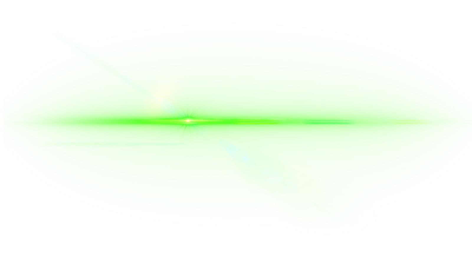 All new lens flare. Green line png picture freeuse