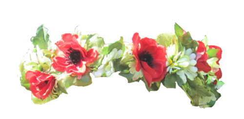 Flower tiara png. Image about tumblr in