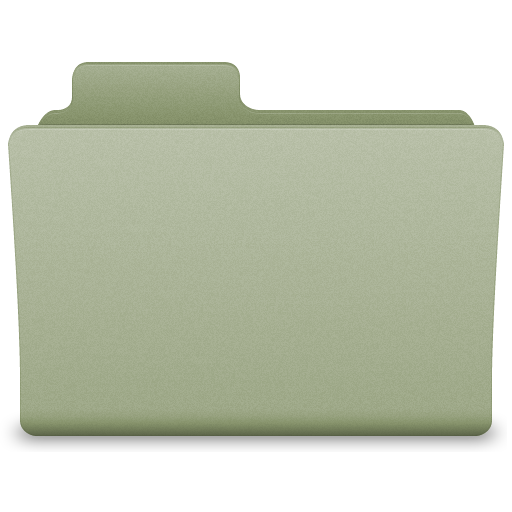 green folder icon png