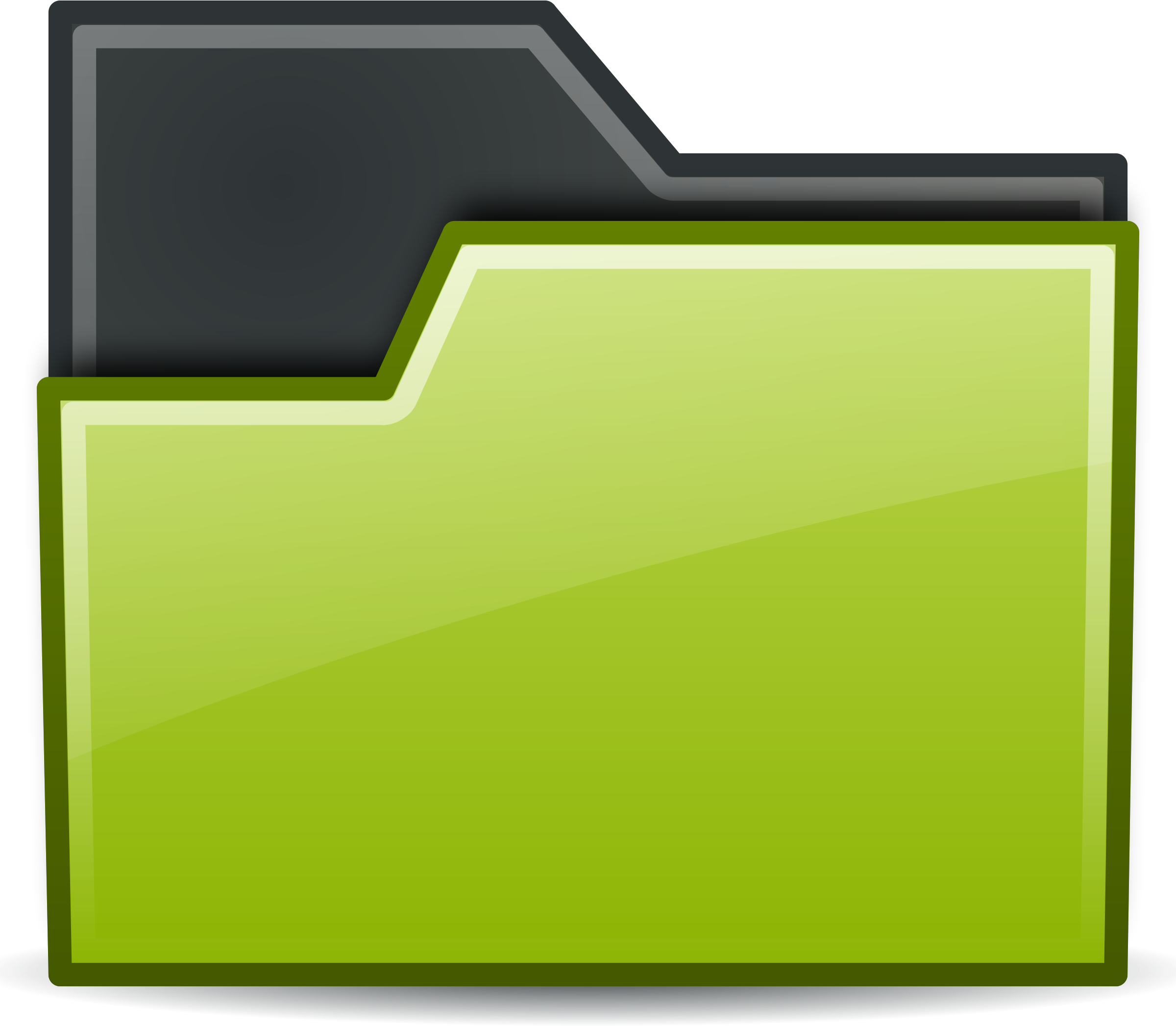 Green folder png. Rodentia icons free and
