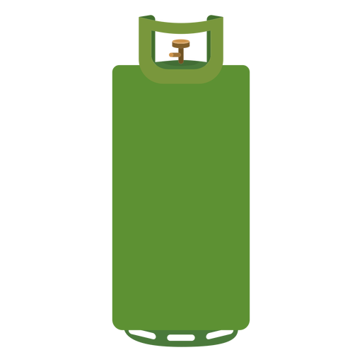 Green gas illustration transparent. Cylinder vector graphic royalty free stock