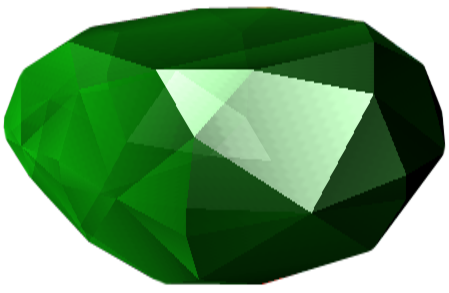 staff transparent gem