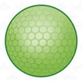 Green golf ball png. Abeka clip art lime