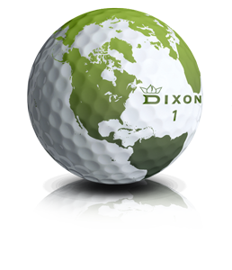 Green golf ball png. Dixon balls the sustainable
