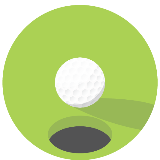 Green golf ball png. Northwood club golfpng