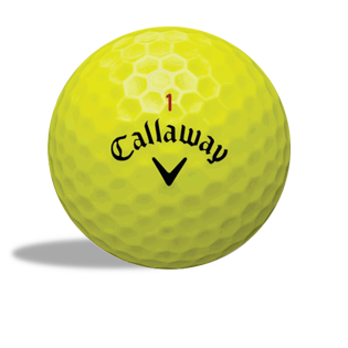 Green golf ball png. Callaway chrome soft yellow