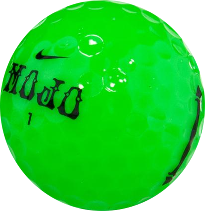 Green golf ball png. Nike mojo lucky monkey