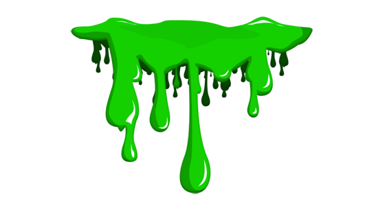 Slime png. Collection of green