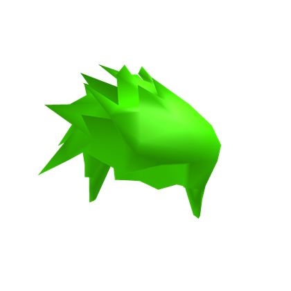 Roblox hair png. Neon green beautiful