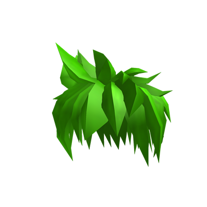 Green hair png. Image neon awesome roblox