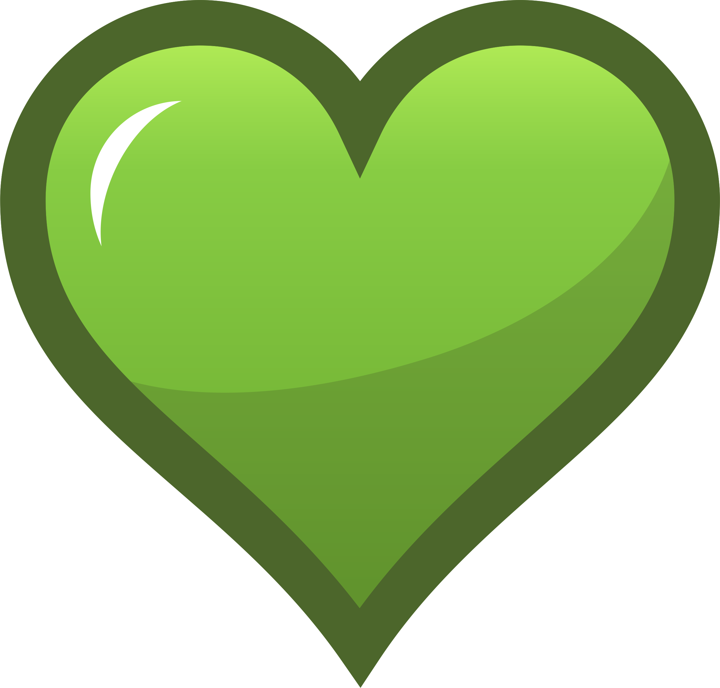 Green heart png. Icon icons free and
