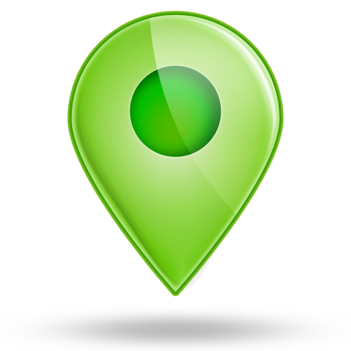 Green icon png. Location icons free and