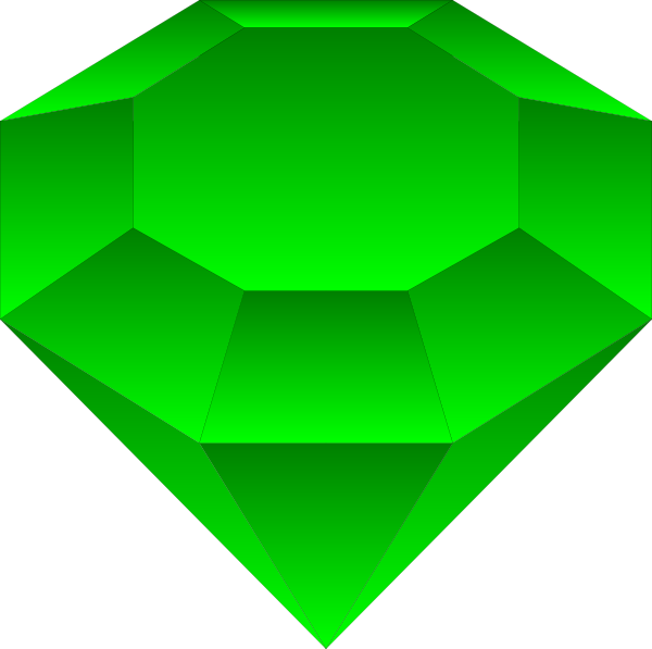 emerald vector background