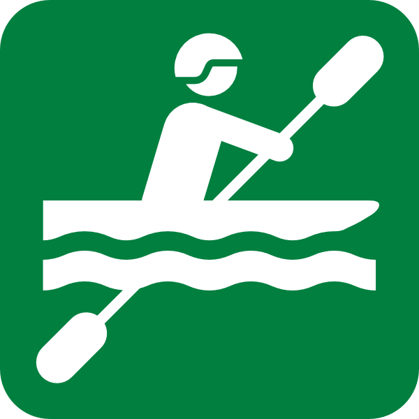 Green kayak. Clip art at clker