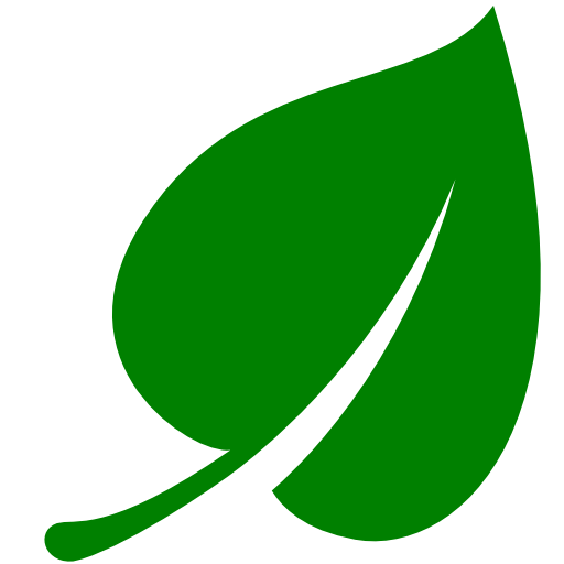 Green leaf icon png. Free icons and backgrounds