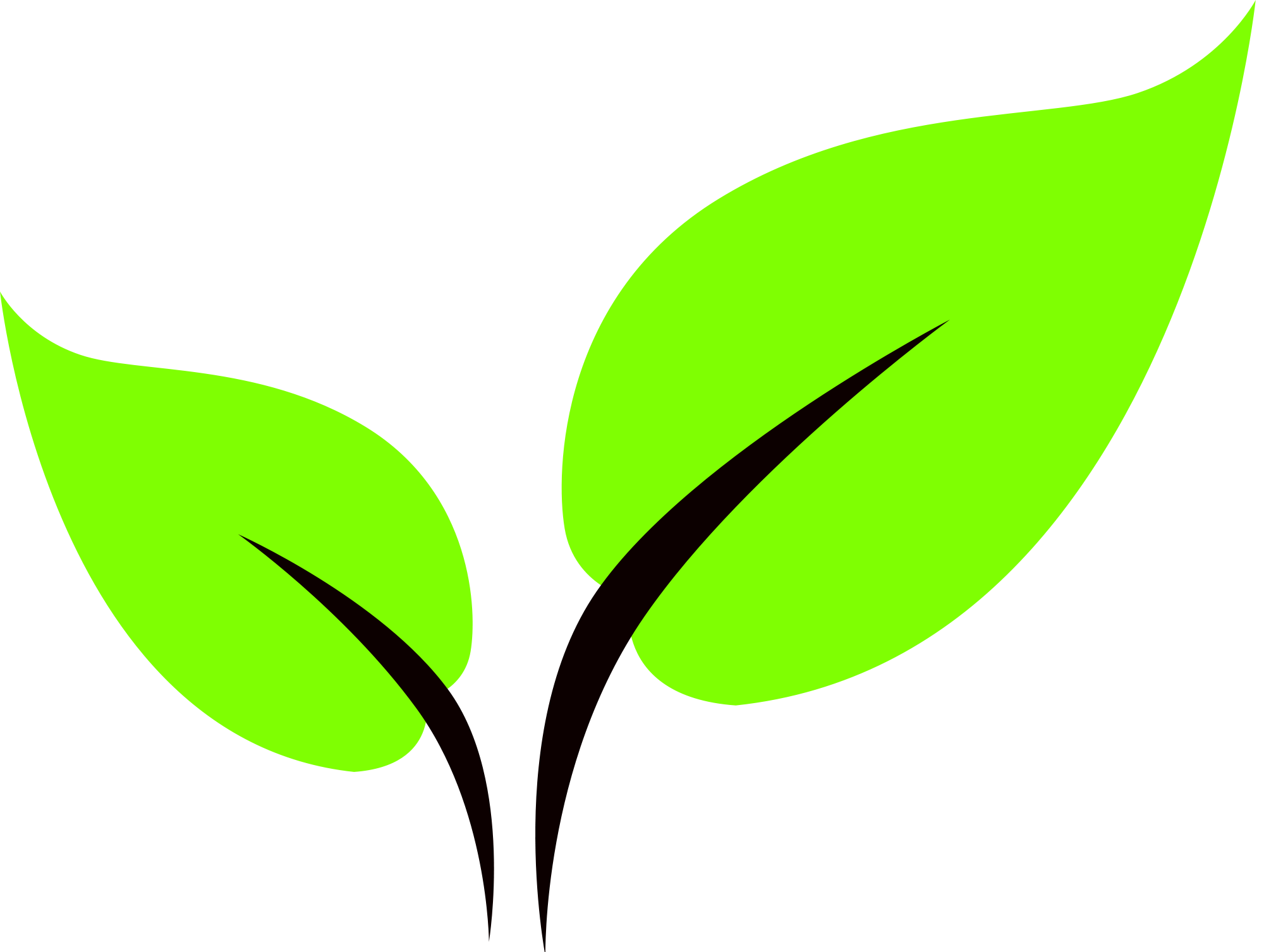green leaf icon png