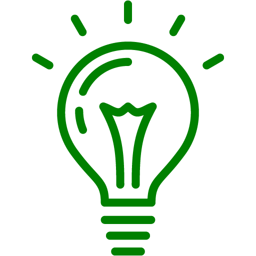 Green light bulb png. Icon free icons