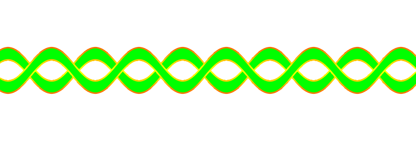 Green line png. Wavy by stephaniecura on