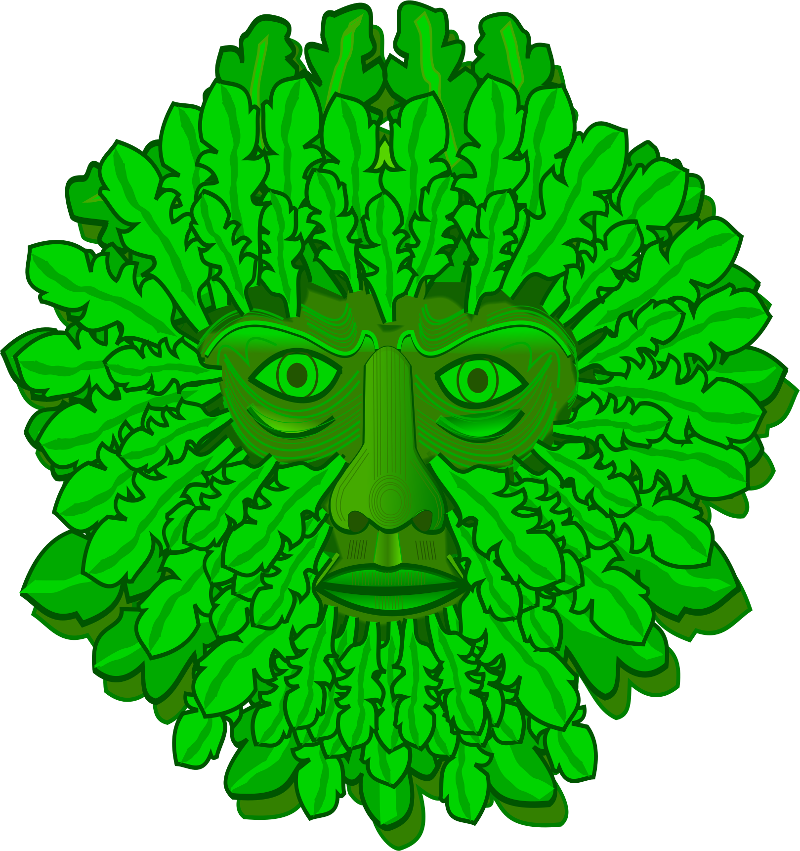 Green man png. Icons free and downloads