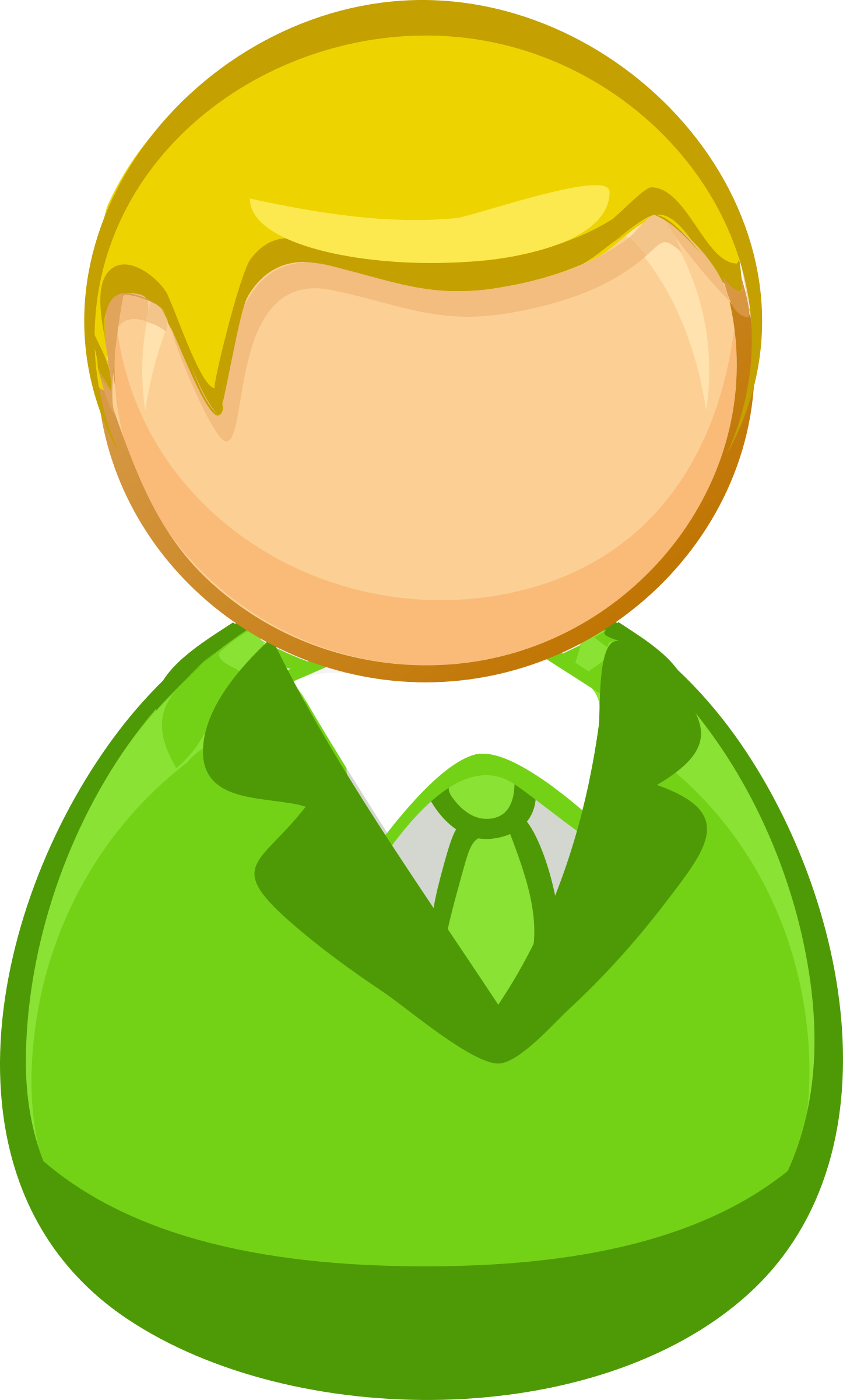 Green man png. Architetto remix blond icon