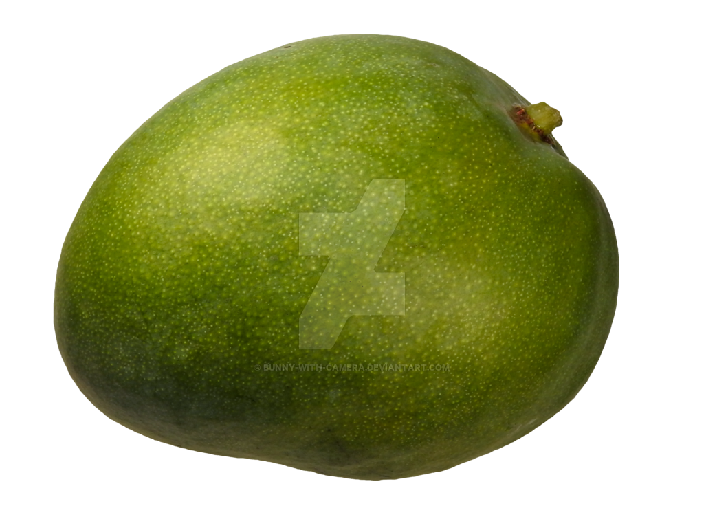 Green mango png. By bunny with camera