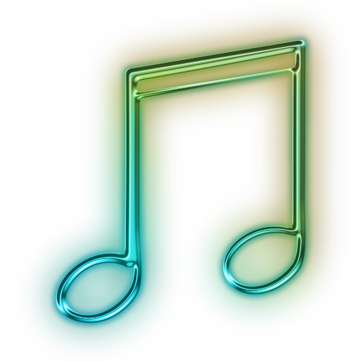 Music notes colorful png. Note transparent icon free