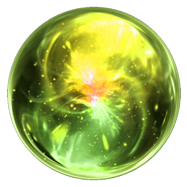 green orb png