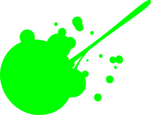 Green paint splash png. Splatter clip art at