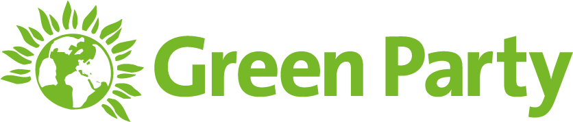 Green party logo png. Visual identity on white