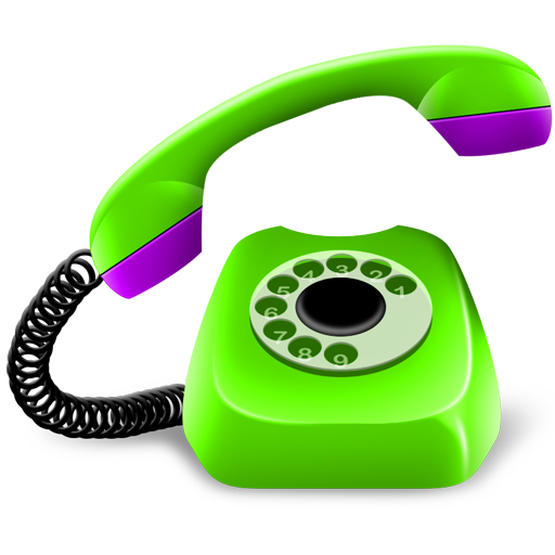 Png contact no. Green phone icon download