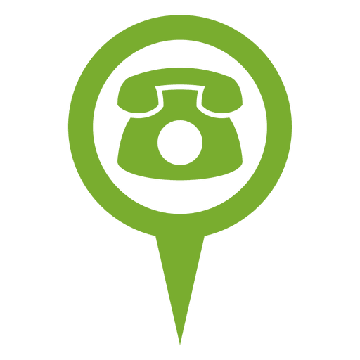Green phone png. Round bubble infographic transparent