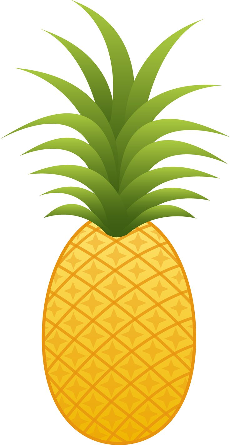 Green pineapple. Free cliparts download clip