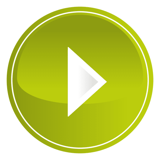 Green play button png. Lime round transparent svg