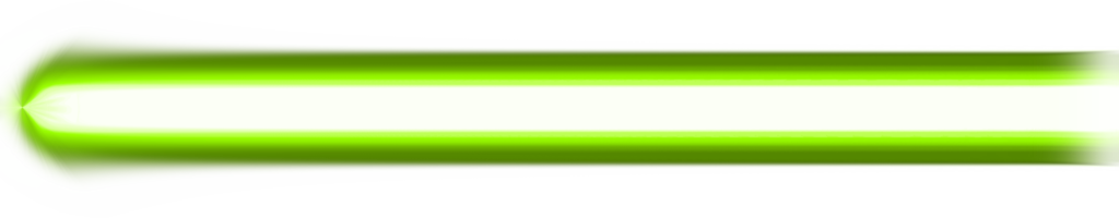 Green png effect. Beam by kanbeikurodasamurai on