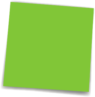 Green post it note png. Sticky clipart free clip