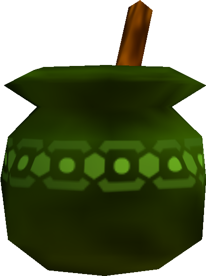 Green potion png