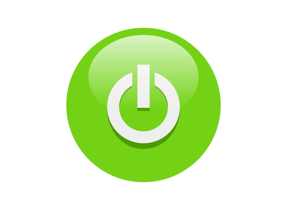 Green power button png. Symbol icon free icons