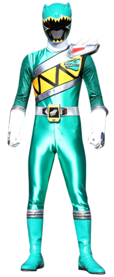 Green power ranger png. Riley griffin dino charge
